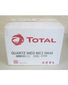 Total Quartz INEO MC3 5W40 (5L) - Case of 3